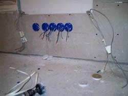 Электромонтажные работы в квартирах новостройках в Вологде. Электромонтаж компанией Русский электрик