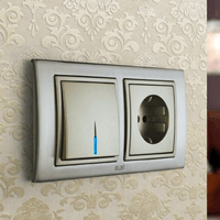 Установка выключателей в Вологде. Монтаж, ремонт, замена выключателей, розеток Вологда.