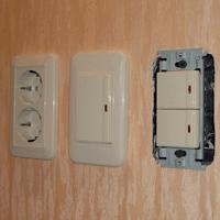 Монтаж, ремонт, замена выключателей Вологда